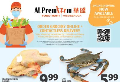 Al Premium Food Mart (Mississauga) Flyer April 8 to 14