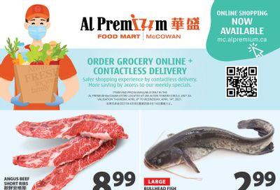 Al Premium Food Mart (McCowan) Flyer April 8 to 14