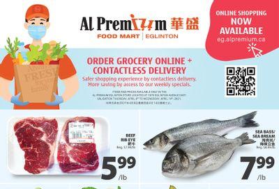 Al Premium Food Mart (Eglinton Ave.) Flyer April 8 to 14