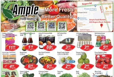 Ample Food Market (North York) Flyer April 9 to 15
