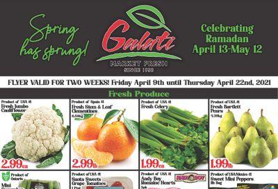 Galati Market Fresh Flyer April 9 to 22