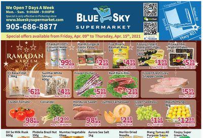 Blue Sky Supermarket (Pickering) Flyer April 9 to 15