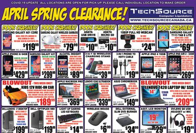 TechSource Flyer April 9 to 29