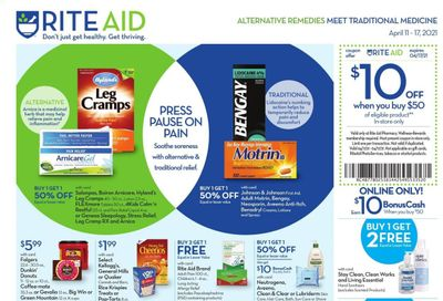 RITE AID Weekly Ad Flyer April 11 to April 17