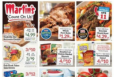Martin's Weekly Ad Flyer April 11 to April 17