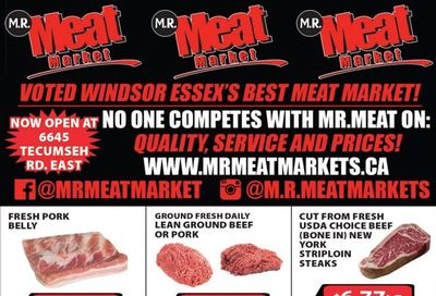 M.R. Meat Market Flyer April 10 to 17