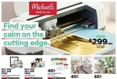 Michaels Weekly Ad Flyer April 11 to April 17