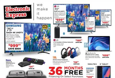 Electronic Express Weekly Ad Flyer April 11 to April 17