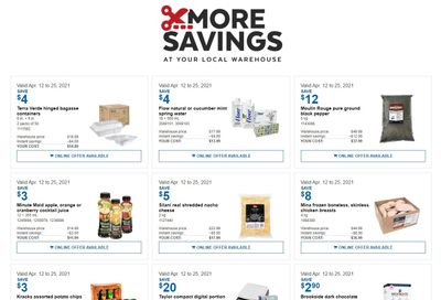 Costco Business Centre Instant Savings Flyer April 12 to 25