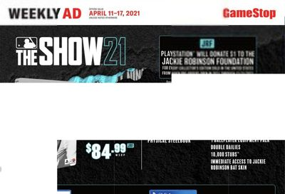 GameStop Weekly Ad Flyer April 11 to April 17