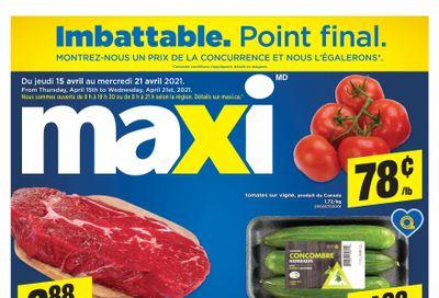 Maxi Flyer April 15 to 21