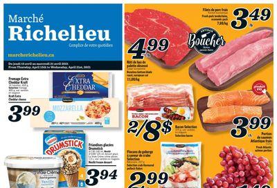 Marche Richelieu Flyer April 15 to 21