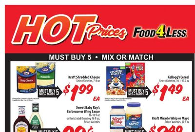 Food 4 Less (IN) Weekly Ad Flyer April 14 to April 20