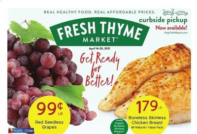 Fresh Thyme Weekly Ad Flyer April 14 to April 20