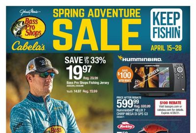 Bass Pro Shops Weekly Ad Flyer April 15 to April 28