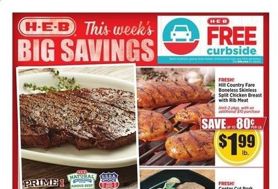 H-E-B (TX) Weekly Ad Flyer April 14 to April 20