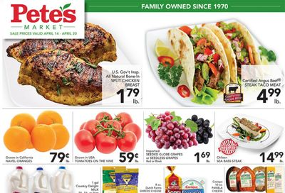 Pete's Fresh Market (IL) Weekly Ad Flyer April 14 to April 20