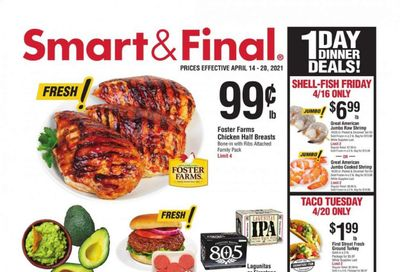 Smart & Final (AZ, CA, NV) Weekly Ad Flyer April 14 to April 20