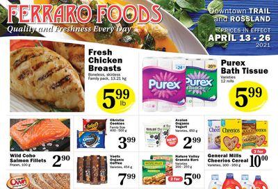 Ferraro Foods Flyer April 13 to 26