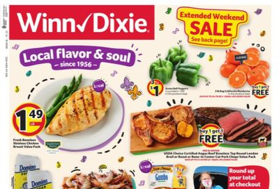 Winn Dixie (AL, FL, GA, LA, MS) Weekly Ad Flyer April 14 to April 20
