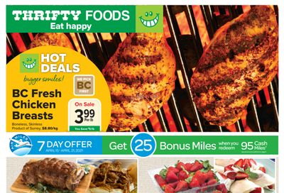 Thrifty Foods Flyer April 15 to 21