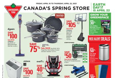 Canadian Tire (ON) Flyer April 16 to 22