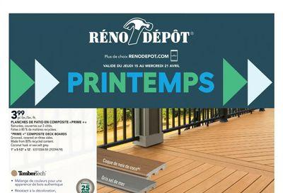 Reno Depot Flyer April 15 to 21