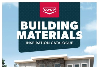 Co-op (West) Home Centre Building Materials Catalogue April 15 to August 31