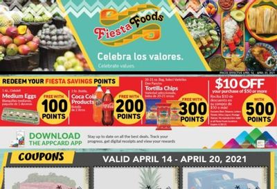 Fiesta Foods SuperMarkets Weekly Ad Flyer April 14 to April 20