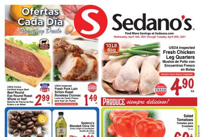Sedano's (FL) Weekly Ad Flyer April 14 to April 20