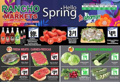 Rancho Markets Weekly Ad Flyer April 13 to April 19