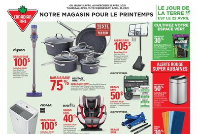 Canadian Tire (QC) Flyer April 15 to 21