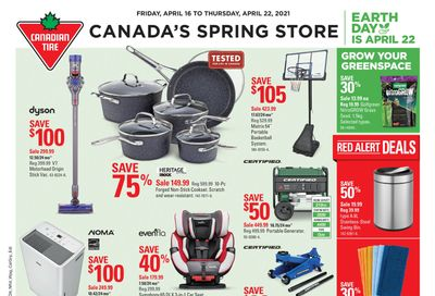 Canadian Tire (West) Flyer April 16 to 22