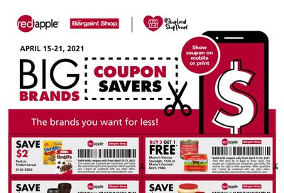 The Bargain Shop & Red Apple Stores Big Coupon Savings April 15 to 21