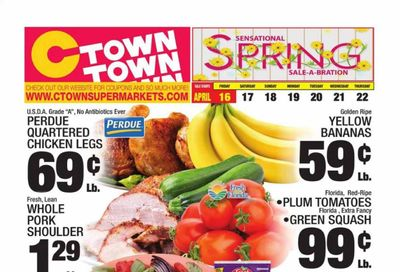 C-Town Weekly Ad Flyer April 16 to April 22