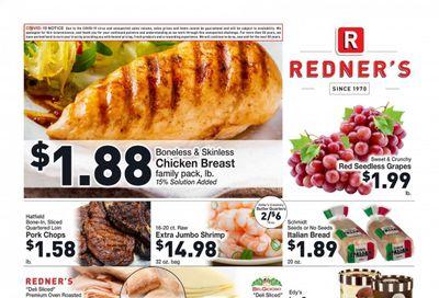 Redner's Markets Weekly Ad Flyer April 15 to April 21