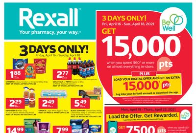 Rexall (West) Flyer April 16 to 22