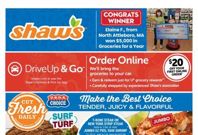 Shaw's (MA, ME, NH, RI, VT) Weekly Ad Flyer April 16 to April 22