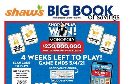 Shaw's (MA, ME, NH, RI, VT) Weekly Ad Flyer April 9 to May 6