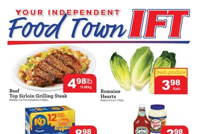 IFT Independent Food Town Flyer April 16 to 22