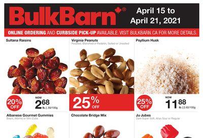 Bulk Barn Flyer April 15 to 21