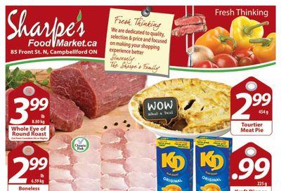 Sharpe's Food Market Flyer April 15 to 21