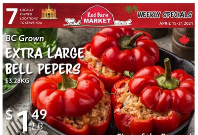Red Barn Market Flyer April 15 to 21