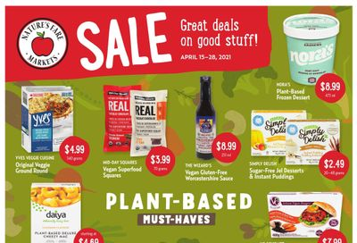 Nature's Fare Markets Flyer April 15 to 28