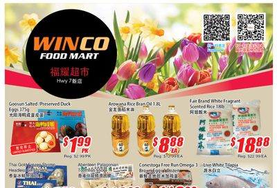 WinCo Food Mart (HWY 7) Flyer April 15 to 21