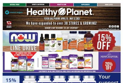Healthy Planet Flyer April 15 to May 12