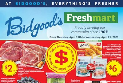 Bidgood's Flyer April 15 to 21