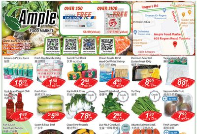 Ample Food Market (North York) Flyer April 16 to 22
