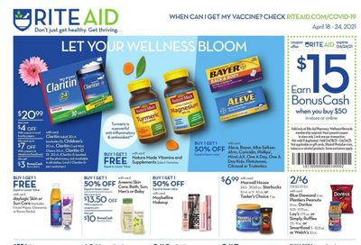 RITE AID Weekly Ad Flyer April 18 to April 24