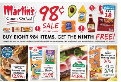 Martin's Weekly Ad Flyer April 18 to April 24